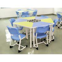 佛山港文家具实木课桌椅制造价格合理欢迎选购