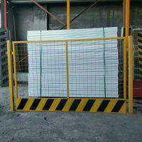 惠州1.8高3米宽电梯井口防护网 基坑建筑临边围栏 施工电梯安全门厂家直销