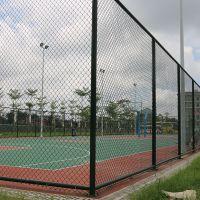 东区公园社区护栏网建设  篮球场围网施工方案 社区篮球场围网