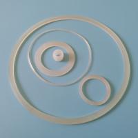 透明硅胶防水圈 陶瓷罐密封圈 玻璃瓶罐密封硅胶圈 方形硅橡胶圈