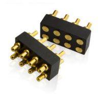 pogopin连接器华为8pin大电流 顶针/弹簧探针/公母座式连接器