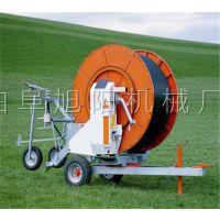 山东旭阳75-300绞盘式灌溉机旱田喷灌设备小麦自走浇地机