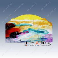 手绘瓷板画详细制作方法 定制定做