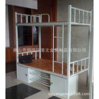 广东铁床厂家 部队床 学校金属上下床 铁架床上下铺 批发定制
