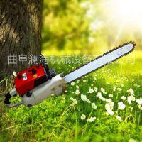 3分钟起一颗树的挖树机 汽油链条挖树机效率高