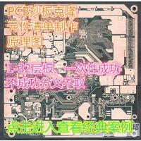 1-32层电路板 专业PCB抄板 BOM清单制作 反推原理图 IC解密 一次性成功