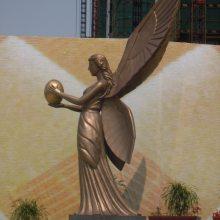 铸铜法律女神雕像司法天平女神玻璃钢裁判正义女神铜塑像人造砂岩朱蒂提亚雕塑古罗马神话人树脂青铜肖像现货