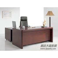 北京腾达大森现代实木办公电脑桌办公桌实木班台DS-SWC010