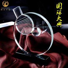 单位运动会奖牌定制,水晶乒乓球奖杯,上海乒协比赛纪念品,企业公司员工运动会奖杯