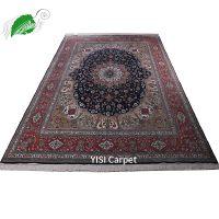 迪拜地毯代购波斯地毯伊朗进口奢华客厅手工真丝地毯薄款北京成都