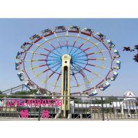 户外大型游乐设备金博大型游乐摩天轮观光类游乐设备42米摩天轮