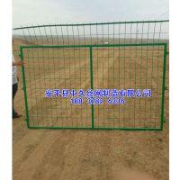 浙江瑞安小区围栏网桃形柱护栏网 三角折弯围栏网围墙护栏网