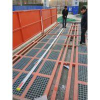 山东济南工地洗车槽工程自动洗车系统