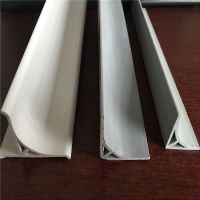 PVC倒圆角线 电力用倒角条 模板用圆弧角条