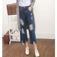 时尚学院风6元特价女士牛仔裤11street清仓便宜服装生产批发低价处理适合夜市地摊赶集甩卖