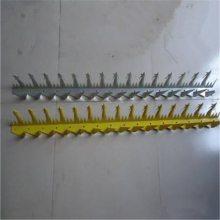 小区防盗刺网 供水管道防盗刺 大号围墙金属刺钉
