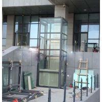 启运 厂家 促销小型别墅电梯新款家用无机房复式阁楼观光电梯