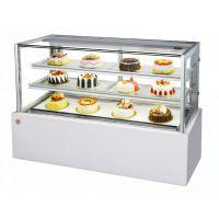 直角蛋糕柜子SCLG4-1200FKD|定做蛋糕冷藏柜|北京糕点柜工厂