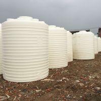 唐山20吨工厂楼顶纯水桶 污水处理PE储水桶