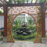 宁波双面铝雕屏风 窗格 挂落花样尺寸按客户要求可任意定制