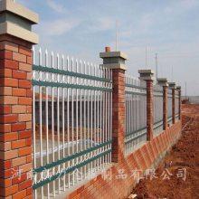 户外锌钢庭院围墙护栏 小区建筑钢材围墙栅栏 锌钢围栏 河南新力