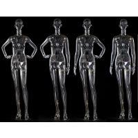 厂家直供透明模特道具 高档抽象头展示模特 广州透明模特销售定做