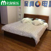 名泉客乐简约现代高密度纤维板CTS床头 客乐CXS床箱大连板式家具工厂直销