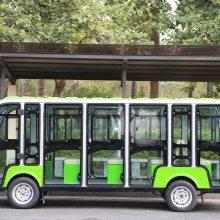 成都四轮电瓶观光车,14人座旅游游览观光车,蓄电池观光游览车,四川电动观光车