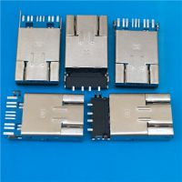 OTG 3.0二合一掀盖式贴板公头 USB A公3.0+MICRO 2.0