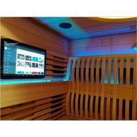 广东厂家货源 家庭汗蒸房光波房家用远红外控制器 10.1寸控制温度时间 智能温控器