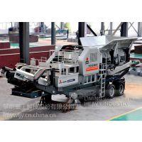 移动反击式破碎机的性能优势黎明重工移动砂石生产线设备