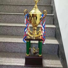 金属颁奖活动奖杯,赛车比赛奖品, 自行车联赛奖杯定制,金属纪念品