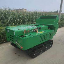 新型履带式开沟机 开沟施肥回填埋肥机 启航柴油履带式施肥机