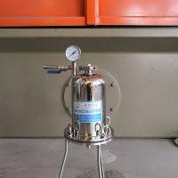 不锈钢2L实验型正压过滤器 上海正压过滤器厂家 可定制大容量 固液分离
