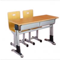 文学士学生双人课桌椅生产厂家