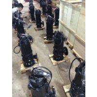 常德自动搅匀潜水排污泵WQ50-15-30-3 3KW立式污水泵的价格 江洋