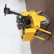 手扶式双轮振动压路机.吉林辽源25B小型压路机