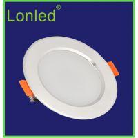 lonled TD-703 LED筒灯 超薄 飞碟款 纯铝 高亮 草帽灯 3W-36W防雾灯