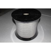 供应白色四氟割裂丝盘根qq2009614