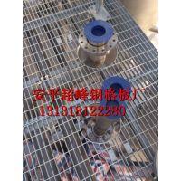 机械厂电解车间平台用热镀锌钢格板 耐腐蚀选超峰