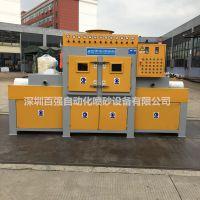 喷砂设备 输送式自动喷砂机 专业非标定制喷砂机