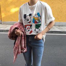大量夏季外贸库存发短袖T恤清货适合摆地摊甩货服装批发清仓处理