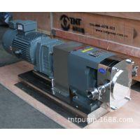 不锈钢凸轮转子泵(图) 转子泵专业制造商