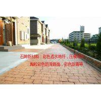 湖北襄阳市 景区 公园广场路面彩色压模地坪/艺术压模地坪