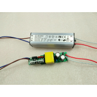 奇翰LED恒流驱动电源40W50W60W 2.1A 4-8串x7w隔离高PF高效率半铝壳防水驱动电源