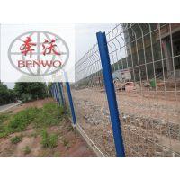 厂家直销桃型柱围栏网现货供应 桃型柱护栏网现货