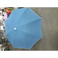 专业定做铝合金架子棉帆布伞面沙滩伞、定制高档沙滩遮阳伞 上海工厂