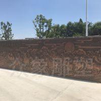 厂家直销万马奔腾紫铜浮雕 校园文化浮雕墙 可来图定制