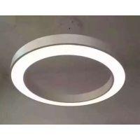 阳光久久照明灯饰 LED线型灯 亚克力铝材吊线灯 健身房灯具 酒店工程灯具 北欧风格