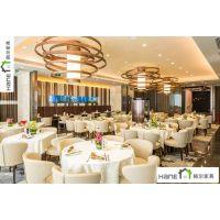 上海韩尔品牌 浦东HR08珍宝海鲜餐厅桌子椅子 新加坡餐厅家具定做